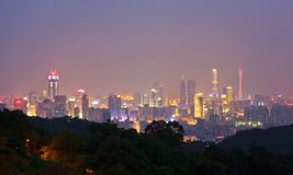 Skyline of Guangzhou 2 Stock Image