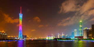 Skyline of Guangzhou 3 Royalty Free Stock Photos
