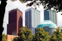 Skyline, Hague, Netherlands Royalty Free Stock Images