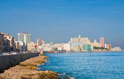 The skyline of Havana Stock Photos