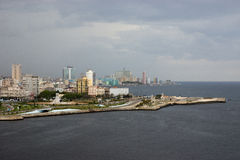 Skyline of Havana Royalty Free Stock Images