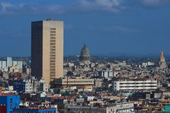 Skyline of Havana Cuba Stock Images