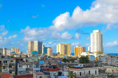 Skyline of Havana Stock Photography