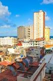 Skyline of Havana Stock Images