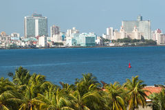The skyline of Havana Stock Images