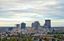 A skyline HDR de Dayton fecha-se Imagens de Stock Royalty Free
