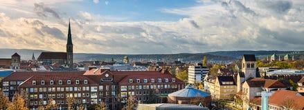 Skyline of Hildesheim, Germany royalty free stock image