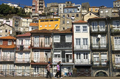 Skyline historical city center, Porto, Portugal Royalty Free Stock Photo