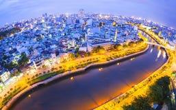 Skyline of Ho Chi Minh city Stock Photos