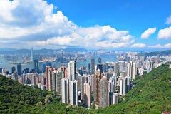 Skyline of Hong Kong Royalty Free Stock Photo
