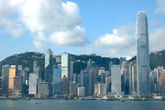 Skyline of Hong Kong Stock Photography