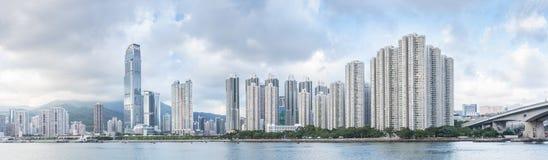 Skyline of Hong Kong city Royalty Free Stock Image