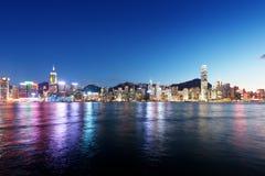 Skyline of Hong kong Royalty Free Stock Photography
