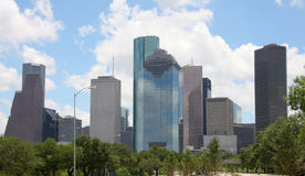 Skyline of Houston Stock Image