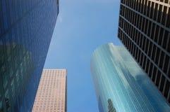 Skyline in im Stadtzentrum gelegenem Houston Lizenzfreies Stockbild