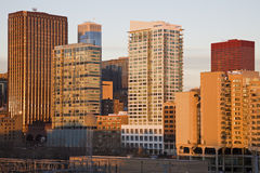Skyline of Indianapolis Royalty Free Stock Photography