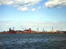 Skyline industrial Fotos de Stock Royalty Free