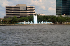 Skyline Jacksonville-Florida Lizenzfreie Stockfotos