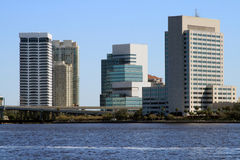 Skyline Jacksonville-Florida Stockbilder