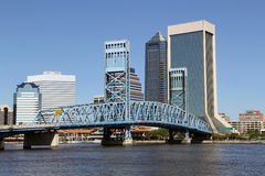Skyline Jacksonville-, Florida Stockfotos