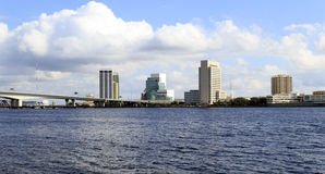 Skyline Jacksonville-Florida Stockbild