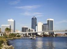 Skyline Jacksonville-Florida Lizenzfreies Stockfoto