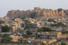 Skyline of Jaisalmer Stock Images