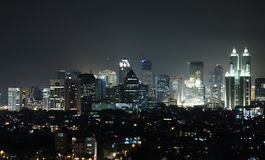 Skyline Jakarta Royalty Free Stock Photography