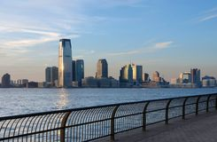 Skyline of Jersey City Royalty Free Stock Photo