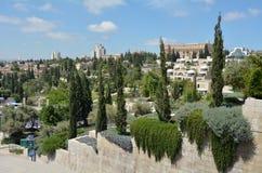 Skyline of Jerusalem, Israel Royalty Free Stock Photo