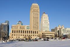 Skyline of Kansas City. Kansas City, Missouri, USA Stock Photography