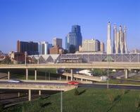Skyline, Kansas City, MO Royalty Free Stock Image