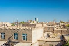 Skyline of Khiva, Uzbekistan Royalty Free Stock Photography