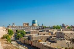 Skyline of Khiva, Uzbekistan Stock Photography