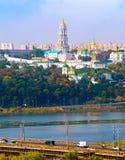 Skyline of Kiev, Ukraine Stock Image