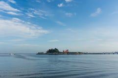 Skyline of  Koh Loy at Sriracha  Chonburi Province Stock Photography