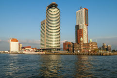 Skyline Kop van Zuid, Rotterdam, Netherlands Royalty Free Stock Photography