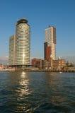 Skyline Kop van Zuid, Rotterdam, Países Bajos Foto de archivo
