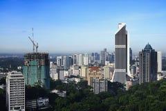 Skyline of Kuala Lumpur Stock Image