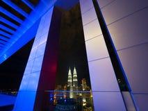 Skyline of Kuala Lumpur royalty free stock photo