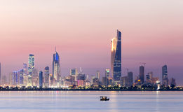 Skyline of Kuwait Stock Image