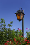 Skyline lantern in a garden. Stock Images