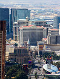 Skyline of Las Vegas, NV. Royalty Free Stock Photography