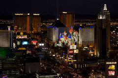 Skyline of Las Vegas, United States royalty free stock images