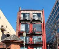 Skyline lebendes im Stadtzentrum gelegenes Memphis lizenzfreie stockfotografie