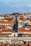 Skyline of Lisbon Stock Image