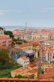 Skyline of  Lisbon, Portugal Stock Photo