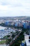 Skyline litoral da cidade Imagem de Stock