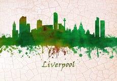Skyline Liverpool-England vektor abbildung