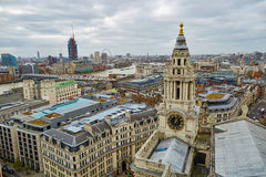 Skyline of London Stock Image